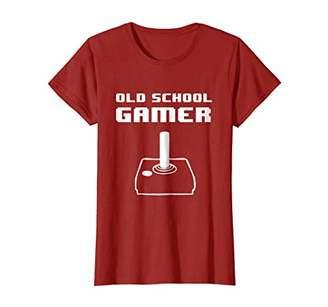 Old School Gamer Graphic T-Shirt Joystick Design
