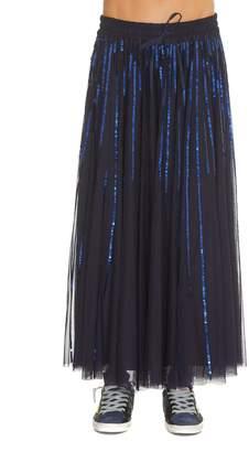 P.A.R.O.S.H. Long Sequin Skirt