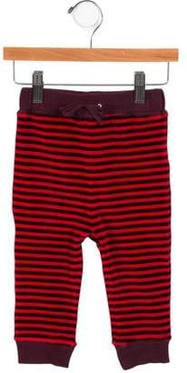 Burberry Girls' Striped Velvet Pants