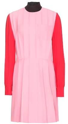 Miu Miu Silk and wool-blend dress