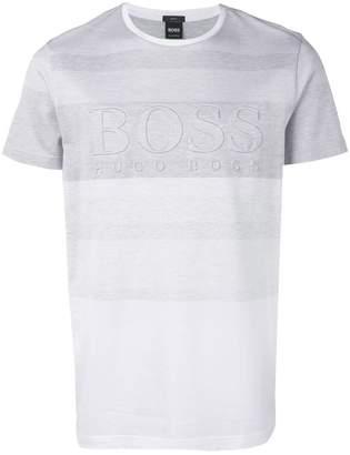 HUGO BOSS embossed logo T-shirt
