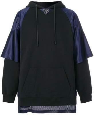 Alexander Wang Football Hybrid hoodie