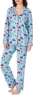 BedHead Print Stretch Cotton Pajamas