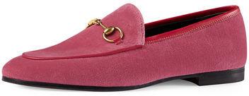 Gucci New Jordaan Velvet Loafer