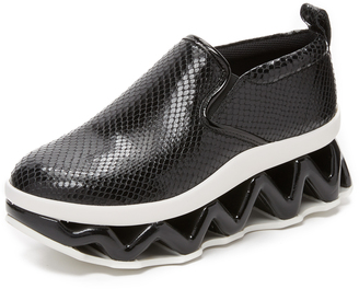 Marc by Marc Jacobs Ninja Wave Slip On Sneakers $428 thestylecure.com