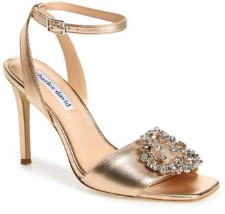 Charles David Vanity Crystal Embellished Sandal (Women)