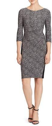 Lauren Ralph Lauren Leopard-Print Jersey Dress $135 thestylecure.com