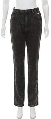 Marc Jacobs Embroidered High-Rise Jeans w/ Tags