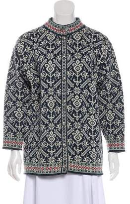 Dale of Norway Virgin Wool Button-Up Cardigan