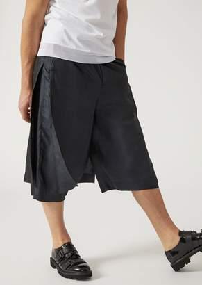 Emporio Armani Silk Shantung Trousers