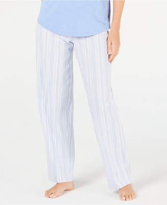 Charter Club Stripe-Print Woven Soft Cotton Pajama Pants 84322d55d