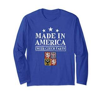 Made In America Czech Parts | Proud Immigrant Long Sleeve
