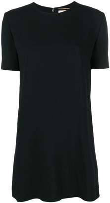 Saint Laurent plain classic T-shirt dress