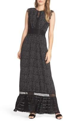 Adelyn Rae Georgette Maxi Dress