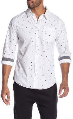 Burnside Novelty Print Regular Fit Shirt
