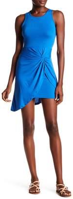 Planet Gold Asymmetrical Sleeveless Dress