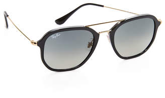 Ray-Ban Highstreet Aviator Sunglasses $175 thestylecure.com