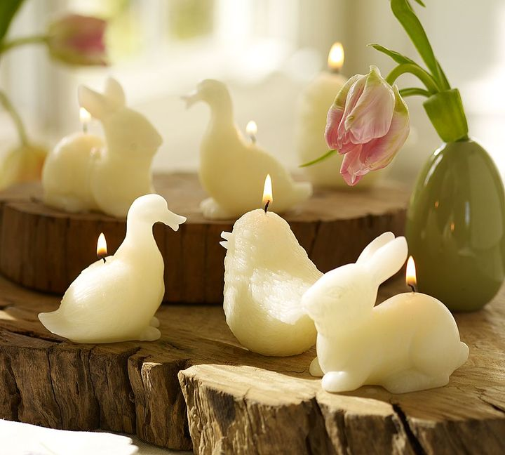 Easter Shaped Candles