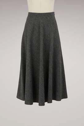 Vanessa Bruno Wool Heya Skirt