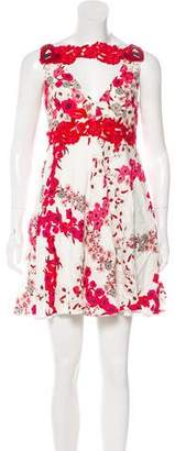 Giamba Sleeveless Mini Dress w/ Tags