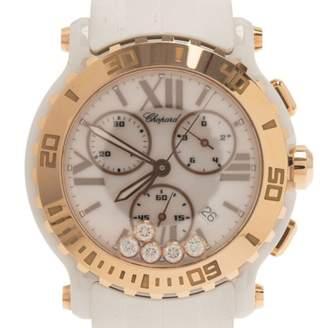 Chopard Happy Sport White Ceramic Watches