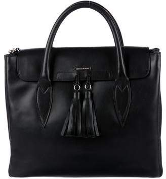 Pre Owned At Therealreal Thomas Wylde Leather Satchel Bag