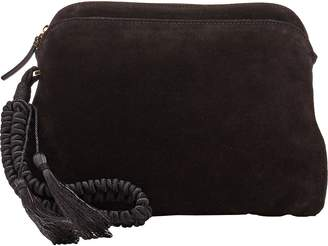 The Row Women's Multi-Pouch Suede Wristlet