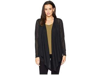 MICHAEL Michael Kors Open Cardigan with Uneven Hem