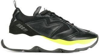 MSGM chunky sole sneakers
