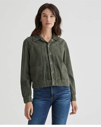 AG Jeans The Eliette Jacket - Sulfur Ash Green