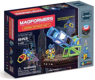 Magformers 'Magic Space' Lighted Magnetic Construction Set