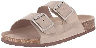 Madden-Girl Women's PLEAASE Flat Sandal
