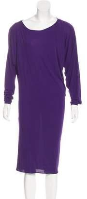 Lanvin Asymmetrical Midi Dress