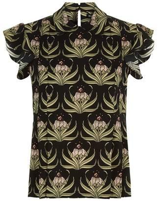 Markus Lupfer Desert Flower Silk Shirt