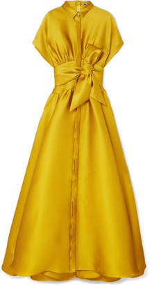 Mustard Evening Dress Shopstyle Uk