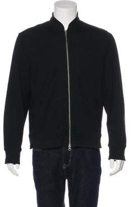 John Varvatos Knit Zip Sweater