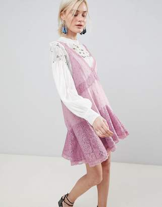 Free People Any Party Trapeze Dress