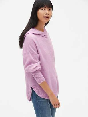 Gap Brushed Hooded Pullover Sweater