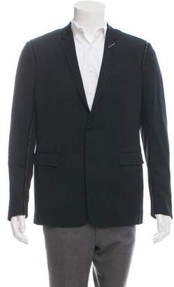 Christian Dior Raw-Edge Virgin Wool Blazer