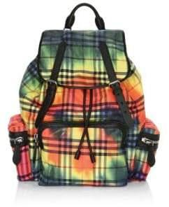 Burberry Tie-Dye Vintage Backpack