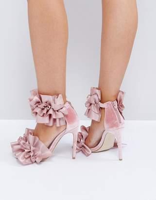 Jeffrey Campbell Tangos Blush Heeled Sandals
