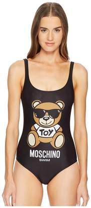 Moschino Classic Teddy Bear on Swimsuit