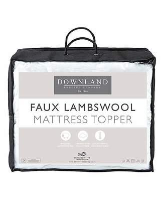 Fashion World Fluffy Faux Lambswool Mattress Topper