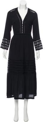 Rebecca Minkoff Long Sleeve Maxi Dress