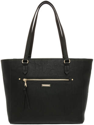 Jag Stitch Zip Top Tote Bag JH-0001
