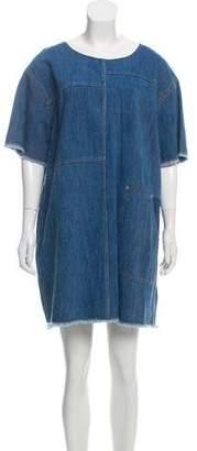 Elizabeth and James Mini Shift Denim Dress w/ Tags