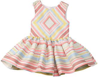 Halabaloo Girls' Striped Dress
