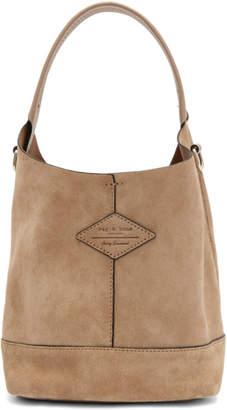 Rag & Bone Pink Suede Mini Camden Bag
