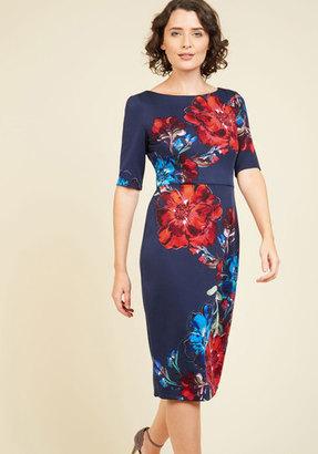 London Times Floral Favor Sheath Dress $129.99 thestylecure.com