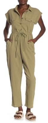 Cotton On Isabella Cap Sleeve Utility Jumpsuit